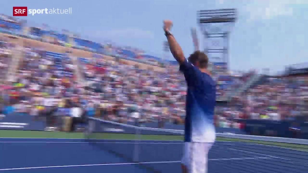 Tennis: US Open, Wawrinka - Chung