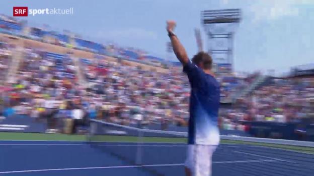 Video «Tennis: US Open, Wawrinka - Chung» abspielen