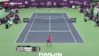 Video «Bencic verliert ersten WTA-Final» abspielen