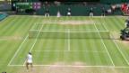 Video «Tennis: Viertelfinals Frauen in Wimbledon» abspielen