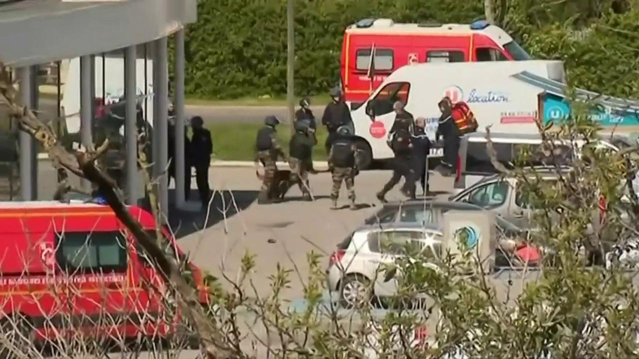 Geiselnahme in Frankreich endet mit Tod des Täters