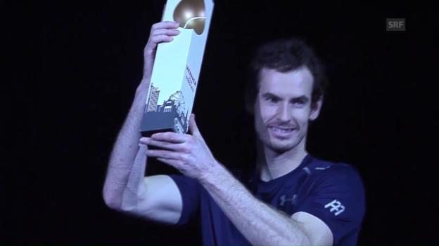 Video «Einige Ballwechsel bei Murray - Tsonga (SNTV)» abspielen