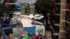 Video «Obdachlos nach Erdbeben» abspielen