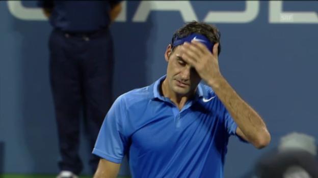 Video «Federer-Robredo: Die entscheidenden Punkte» abspielen