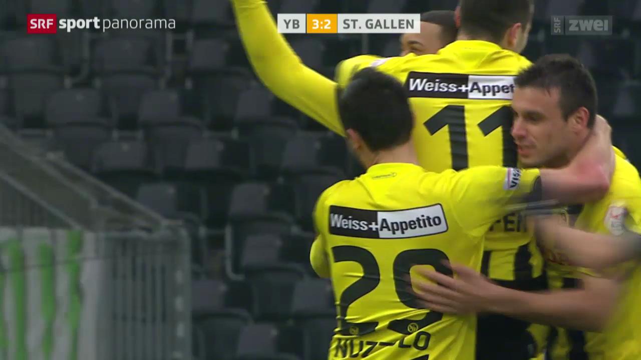Fussball: YB - St. Gallen