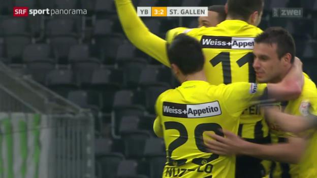 Video «Fussball: YB - St. Gallen» abspielen
