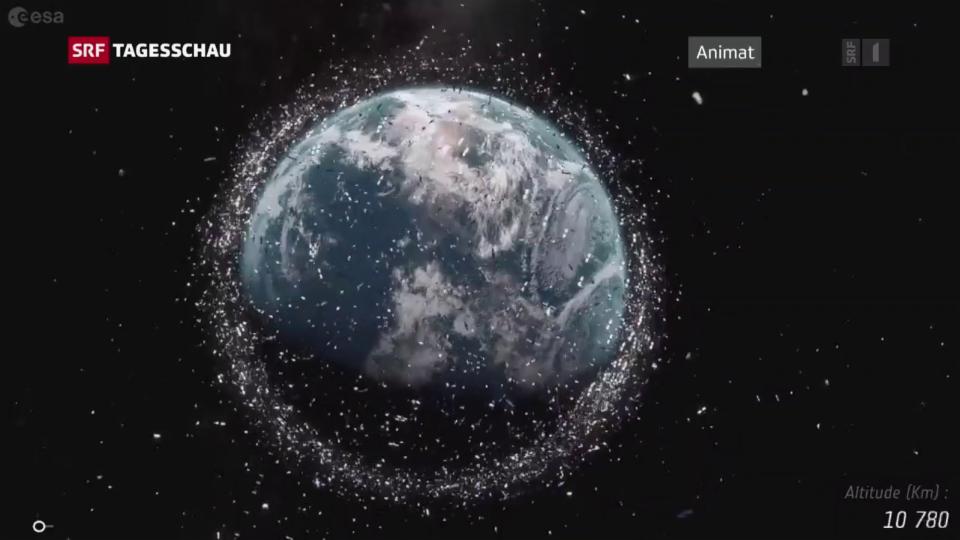 Aus dem Archiv: Weltraumschrott – was tun mit dem Müll im All?