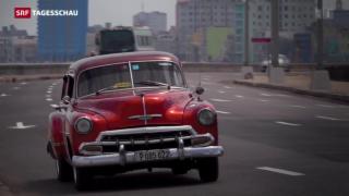 Video «Kuba vor historischem Obama-Besuch» abspielen