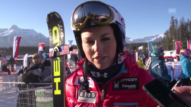 Video «Lindsey Vonn im Interview» abspielen