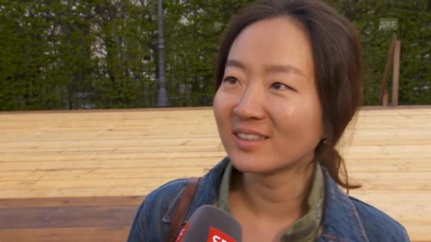 Video «Fernsehteam aus Südkorea» abspielen