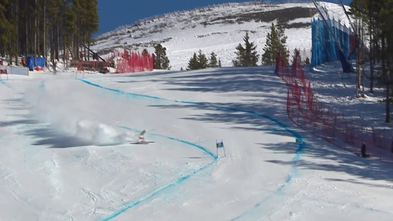 Ski: Super-G Lake Louise, Ausfall Carlo Janka