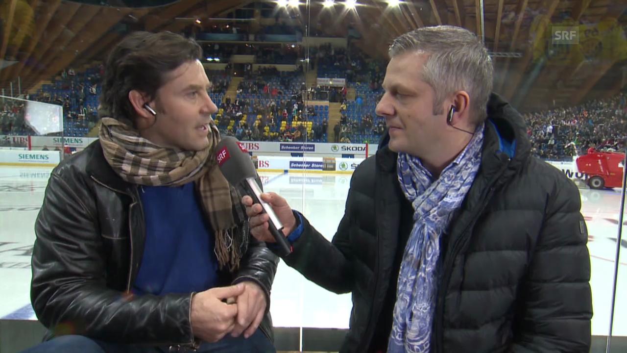 Eishockey: Spengler Cup, VIP-Gespräch mit Sven Furrer