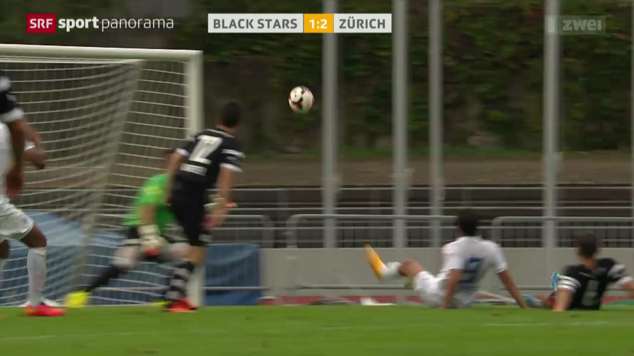 Fussball: Schweizer Cup, Black Stars - Zürich