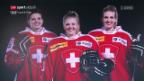 Video «Die Waidachers: Schwestern-Trio reist an die Olympischen Spiele» abspielen