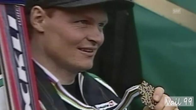 Video «Ski-WM 1989 und 1999: Zwei Medaillen für Paul Accola» abspielen