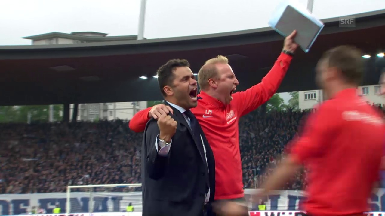 Die Live-Highlights vom Cupfinal