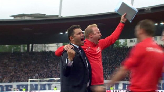 Video «Die Live-Highlights vom Cupfinal» abspielen