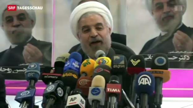 Video «Iran hat neuen Präsidenten» abspielen