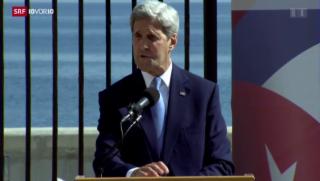 Video «FOKUS: Historischer Besuch in Kuba» abspielen
