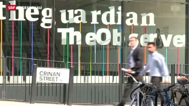 «The Guardian» von britischem Geheimdienst unter Druck gesetzt