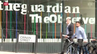 Video ««The Guardian» von britischem Geheimdienst unter Druck gesetzt» abspielen