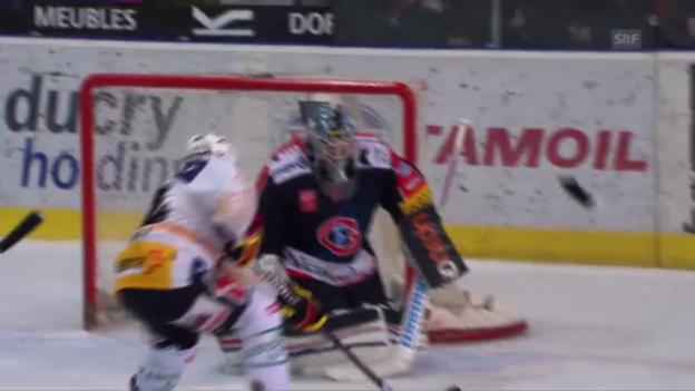 Video «Finalspiel 1: Highlights Fribourg - Bern («sportlive»)» abspielen