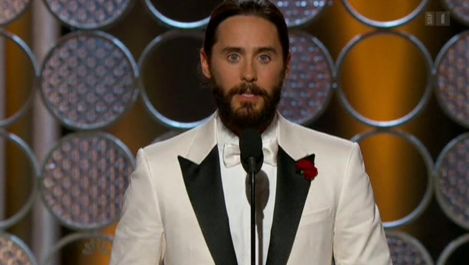 Golden Globes: Hollywood solidarisiert sich mit Paris