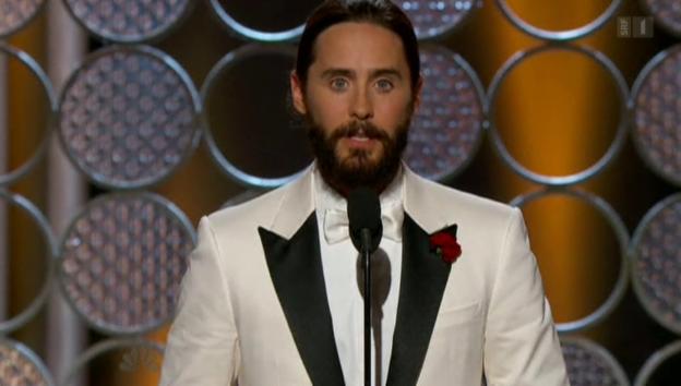 Video «Golden Globes: Hollywood solidarisiert sich mit Paris» abspielen