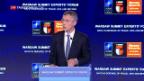 Video «Russland und Brexit beim Natogipfel» abspielen