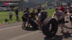 Video ««Strongman»-Training mit dem SCB» abspielen