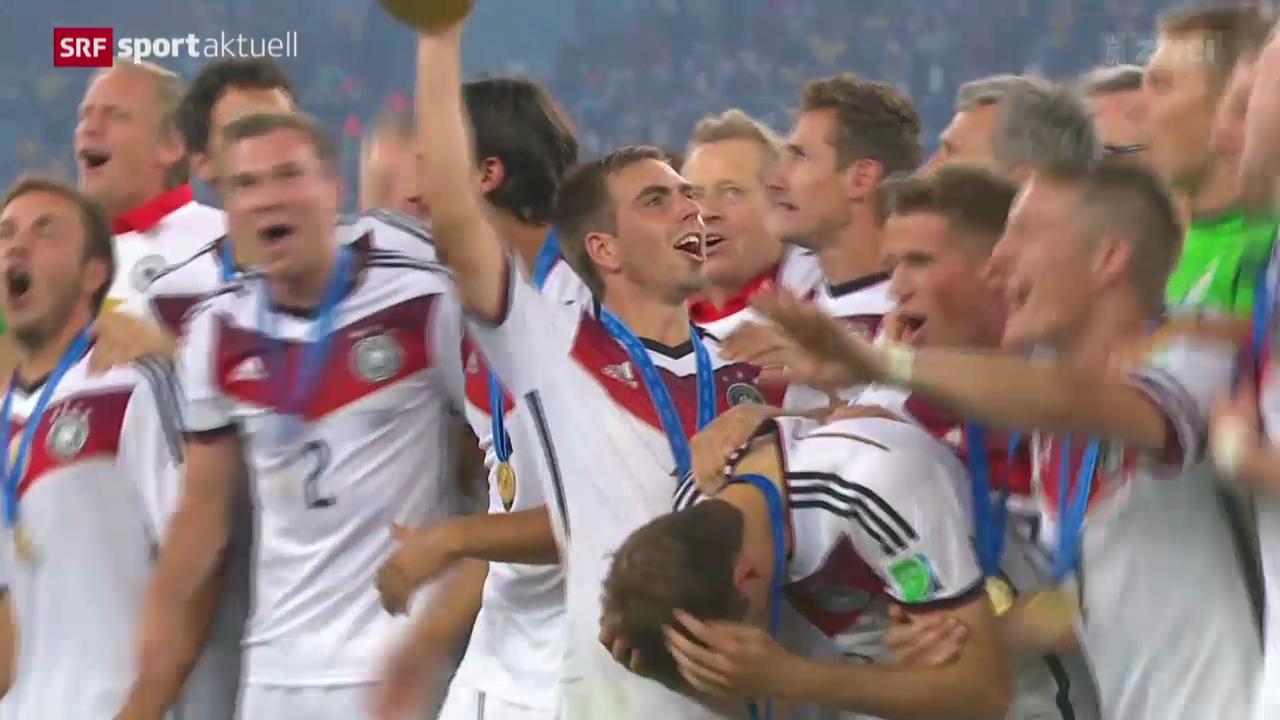 Fussball: Nati-Rücktritt von Philipp Lahm