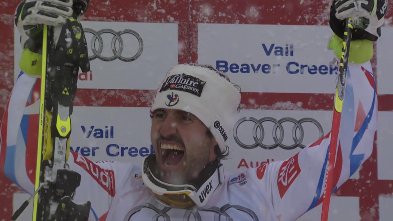 Ski Alpin: Jean-Baptiste Grange wird Weltmeister