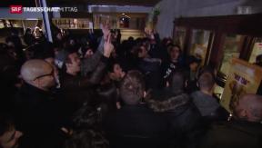 Video «Dieudonné begeistert Schweizer Publikum» abspielen
