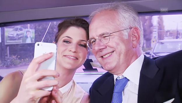 Video «In der Limousine mit Harald Schmidt» abspielen