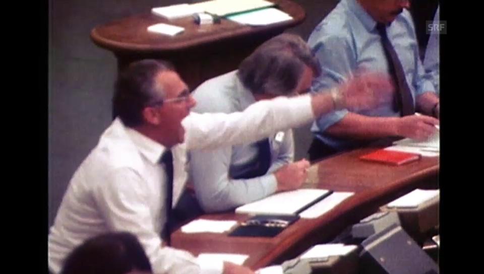 Wie man 1982 an der Börse handelte (unkommentiert)