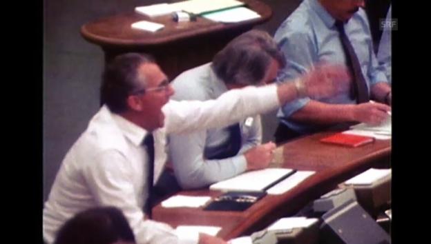 Video «Wie man 1982 an der Börse handelte (unkommentiert)» abspielen