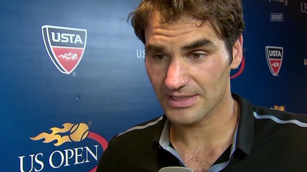 Federer über Monfils