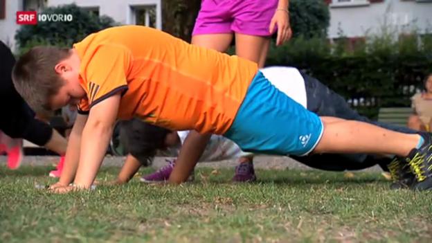 Video «Abnehm-Kurse für übergewichtige Kinder» abspielen