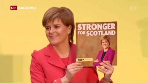 Video «SNP bleibt stärkste Kraft in Schottland» abspielen