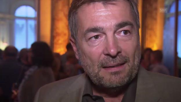 Video «Stefan Gubser über Schweizer Tatort» abspielen