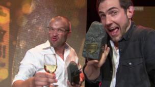 Video «Auszeichnung für Divertimento am Swiss Comedy Award» abspielen