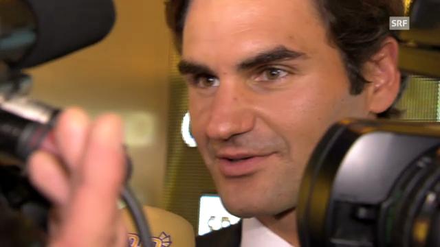 Roger Federer zeigt sich gerührt über Standing Ovation