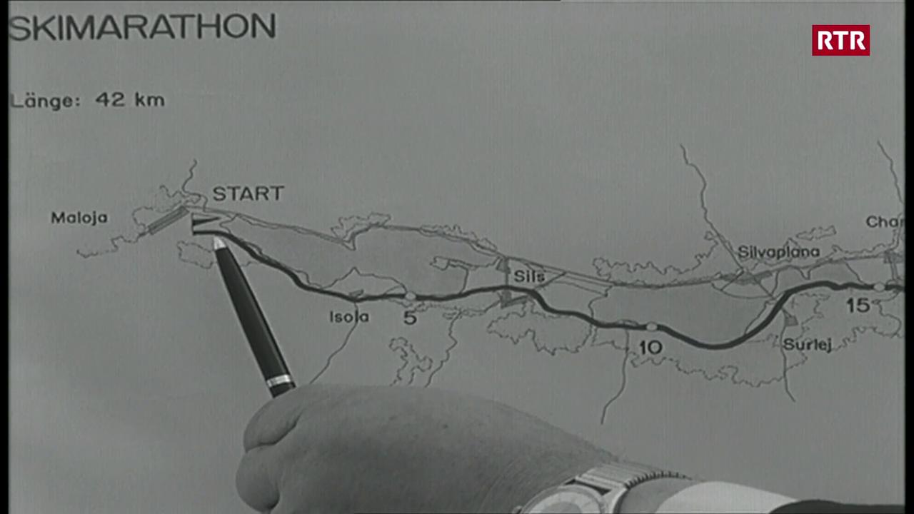 il emprim maraton da skis engiadinais
