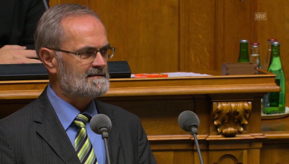Thomas Weibel (GLP/ZH) zum eigenen Aufsichts-Gesetz