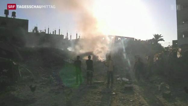 Video «Kein Frieden in Gaza» abspielen