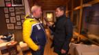 Video «Hinter den WM-Kulissen: Studer im «Green Room»» abspielen