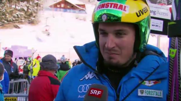 Video «Das italienische Speed-Team («sportaktuell» vom 16. Januar 2013)» abspielen