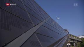 Video «Solarpanels leider unter der Hitze» abspielen