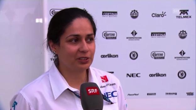 Video «F1: Interview mit Monisha Kaltenborn» abspielen