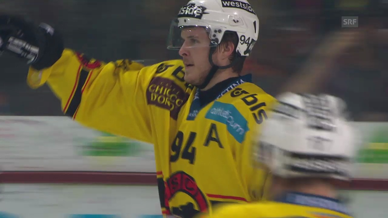 Eishockey: Christoph Bertschys NLA-Tore 2014/15